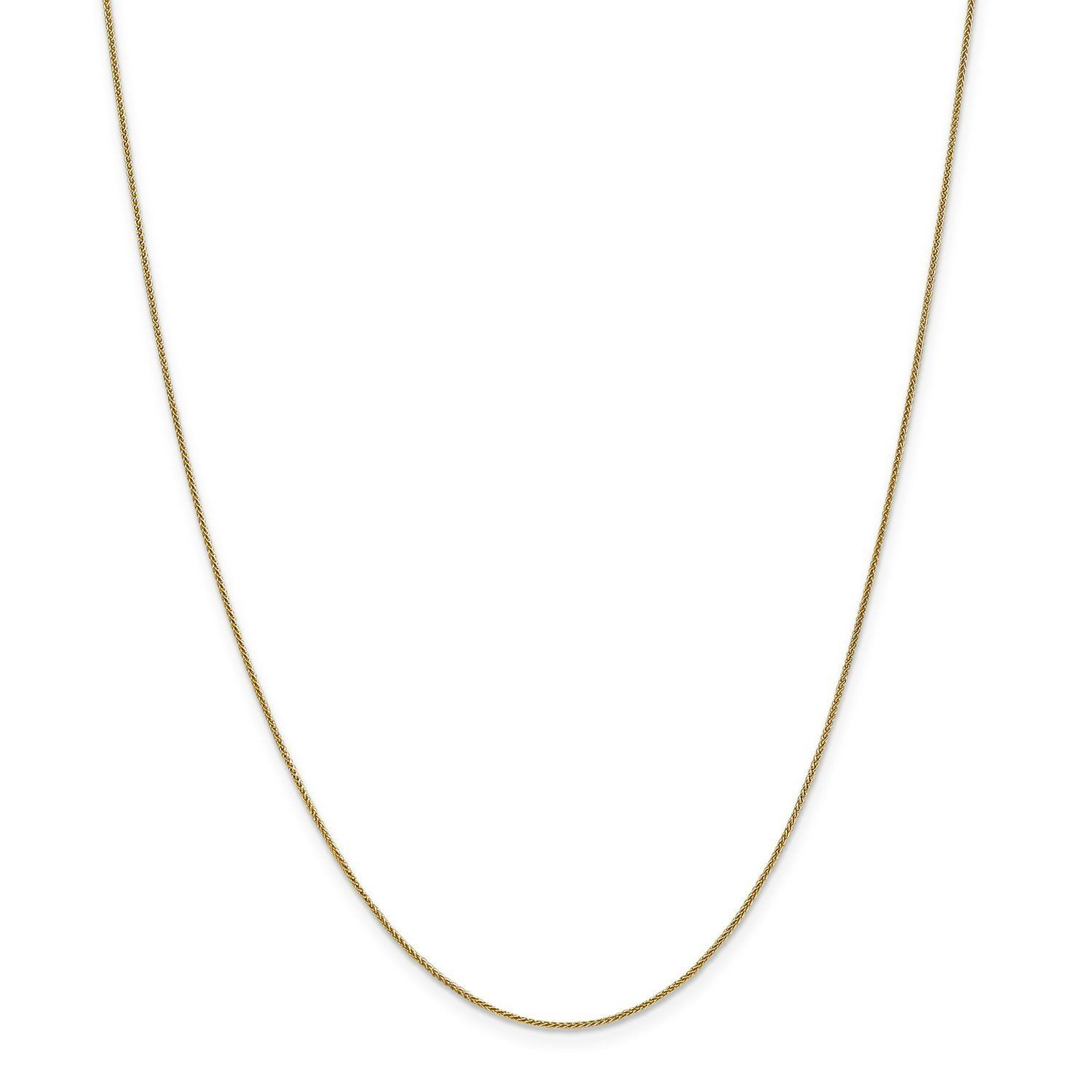 Bar Necklace Leslies Real 14kt Yellow Gold Polished with 1in ext
