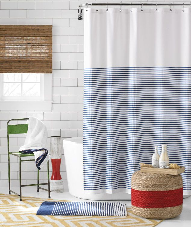 tommy hilfiger shower curtain - Bing images | Bathrooms | Pinterest ...