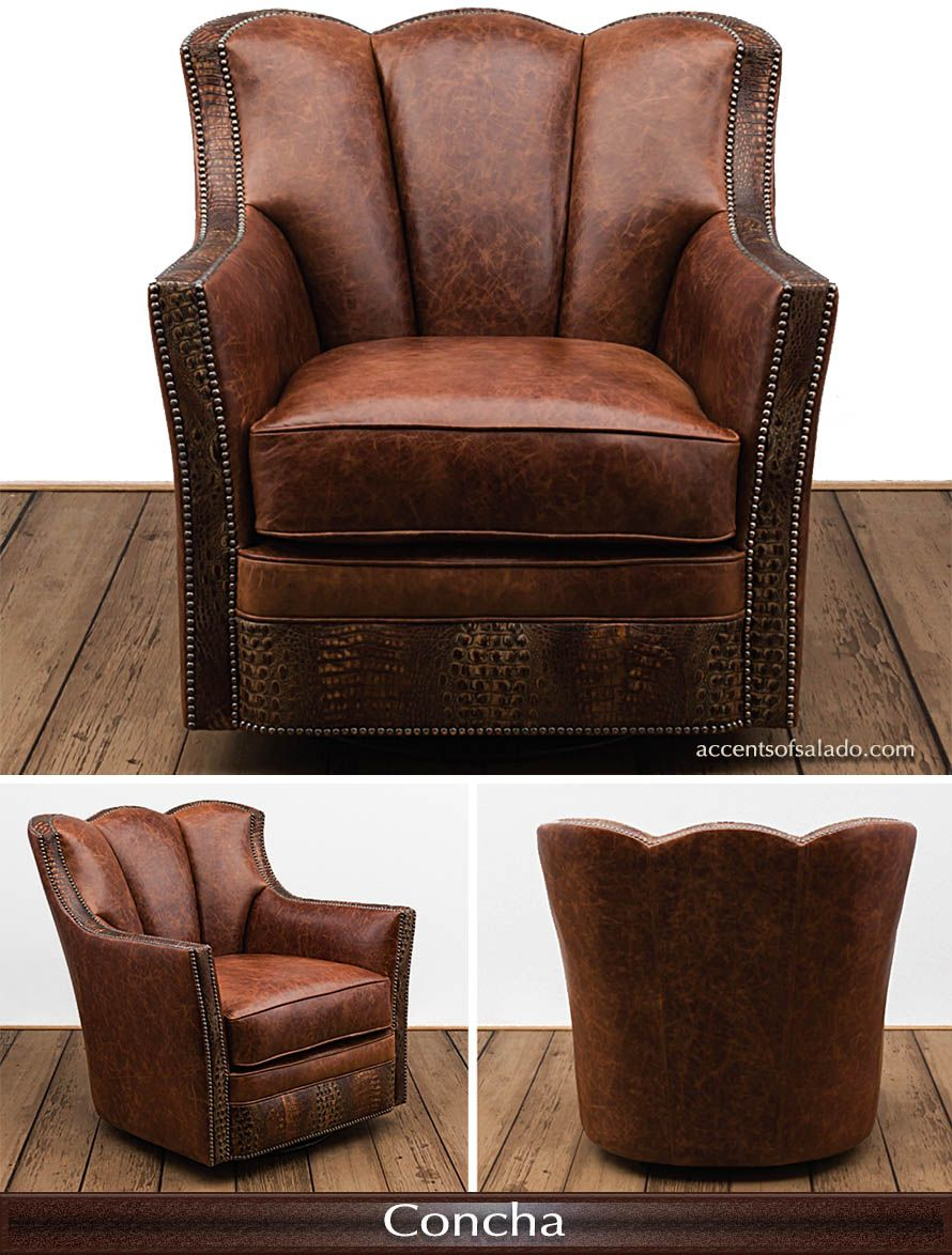 Best New Top Grade Leather Accent Chair At Accents Of Salado 400 x 300