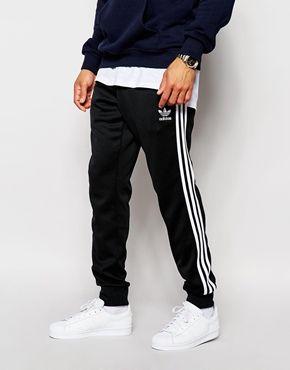 huge discount f8e42 4eb8f adidas Originals Superstar Cuffed Track Pants AJ6960