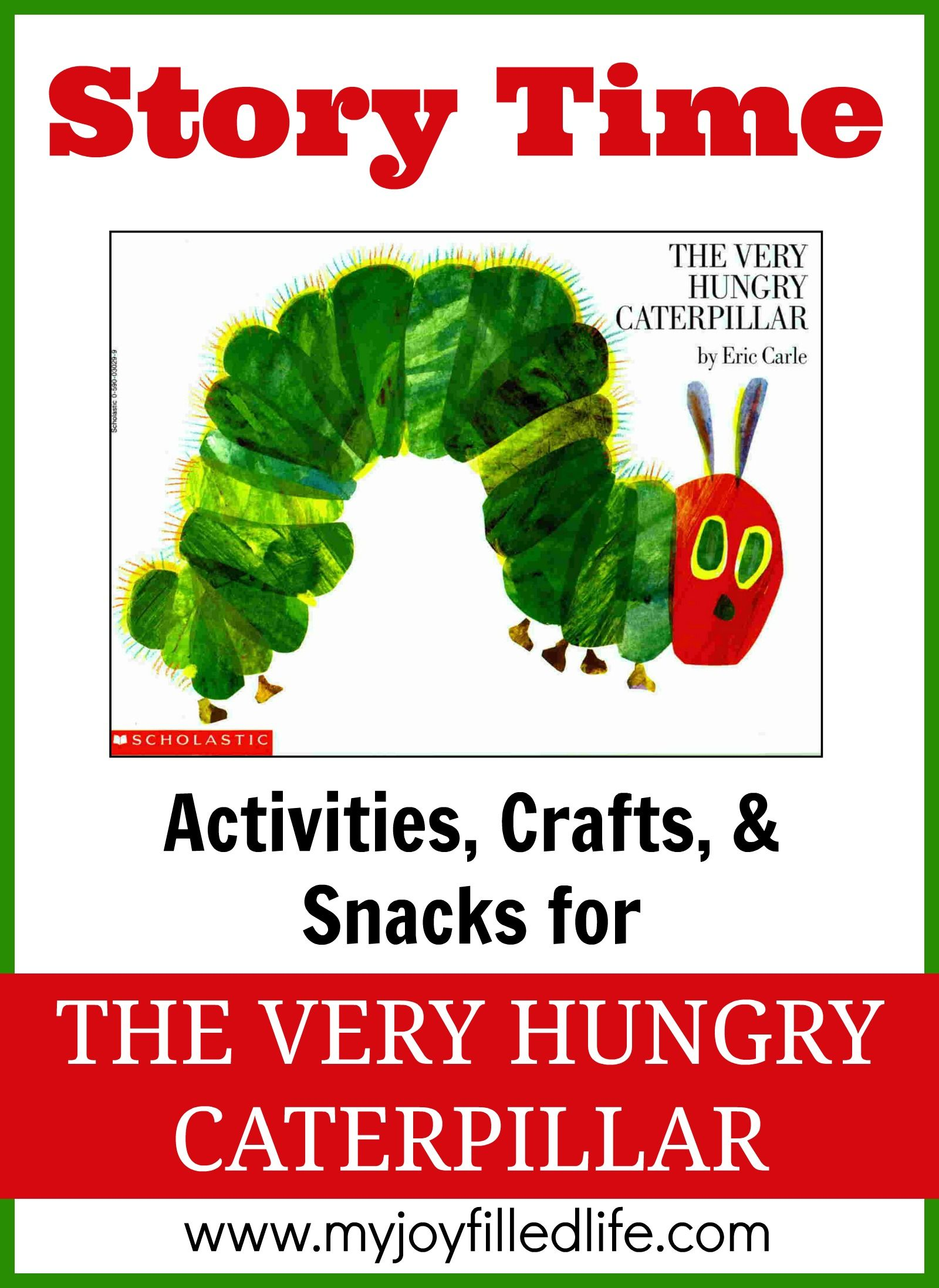Coloring pages very hungry caterpillar - The Very Hungry Caterpillar Story Time Activities