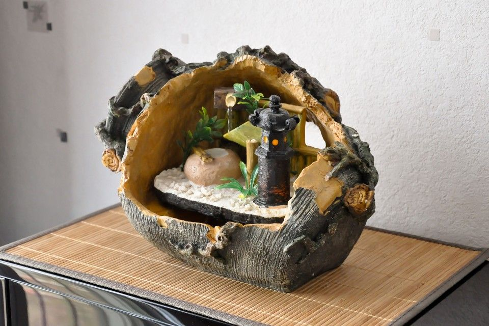 Fontaine d 39 int rieur jardin japonais zen akira d co for Fontaine interieur zen