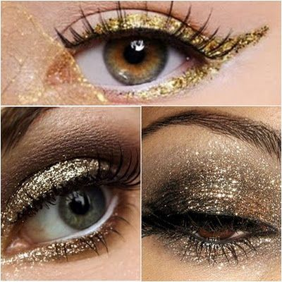 How To: Glitter Eyes 3 Ways! Perfect for Halloween, New Years, Girls' Night Out...