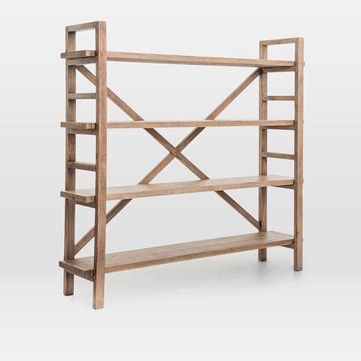 Reclaimed Pine Wood Bookshelf In 2020 Wood Bookshelves Pine Wood Furniture Wood Furniture