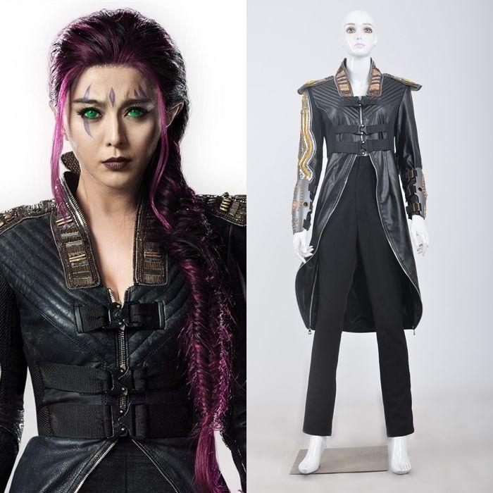 X-Men Days of Future Past Clarice Ferguson Blink Coat Cosplay