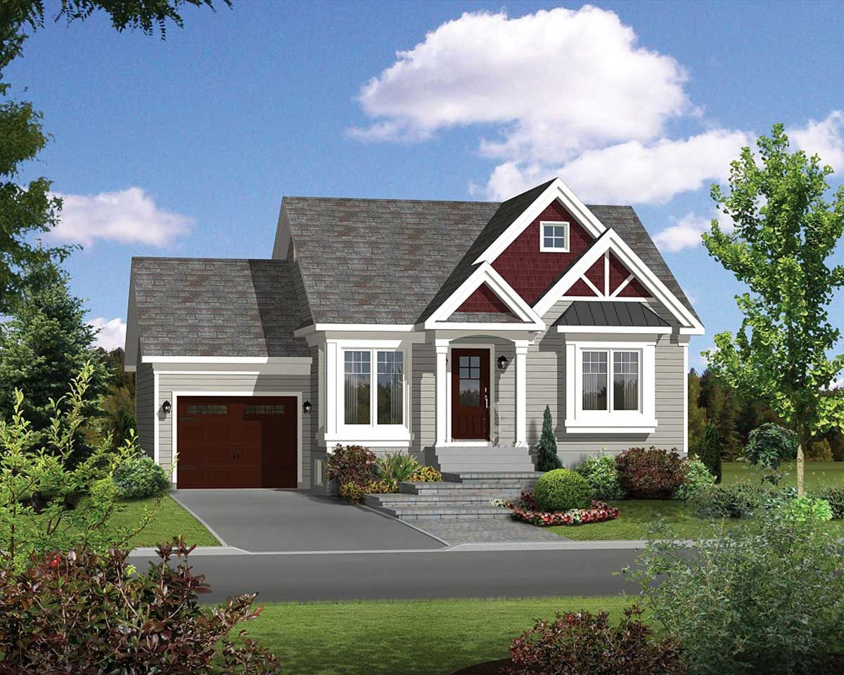 Plan 80893pm Mini Craftsman House Plan Small Cottage House Plans Craftsman Floor Plans Cottage House Plans