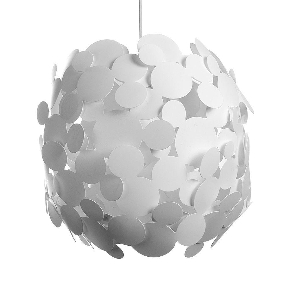 Contemporary large white popcorn design ceiling light pendant shade