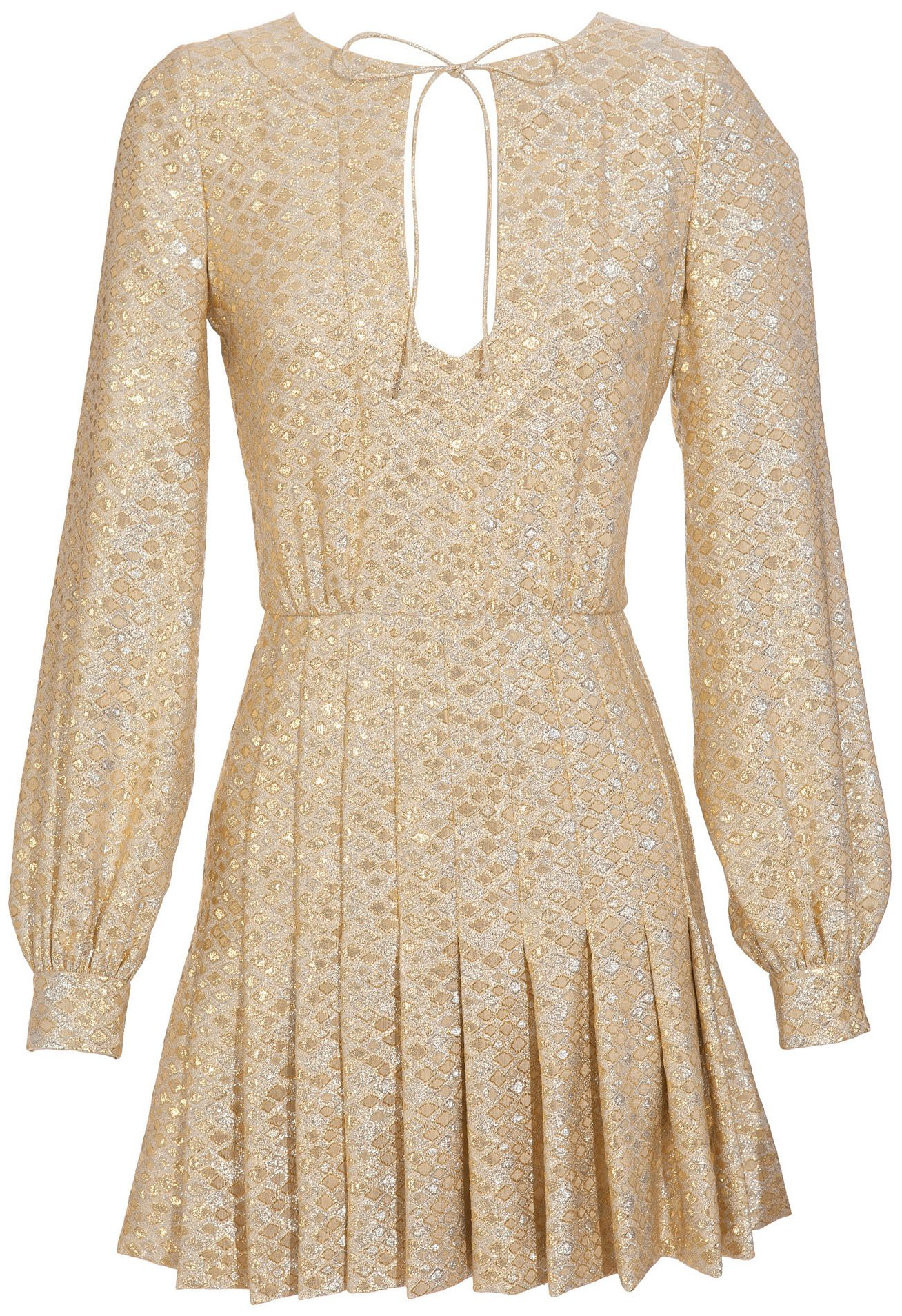Azzaro  Jaya Wool-blend Brocade Dress    I WANT THIS DRESS!!