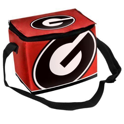 New! Georgia Bulldogs Insulated Lunch Bag - Red #GeorgiaBulldogs