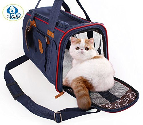 Soft Sided Pet Carrier Jimmypet Airline Approved Recommended By American Pet Association Pet Travel Portable Bag Home For Dogs Cats And Puppies Cat Carri Pet Carriers Pet Travel Portable Bag