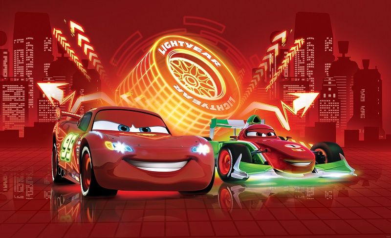 Lightningmcqueencarswallmuralspjpg Cake - Boys car wallpaper designs