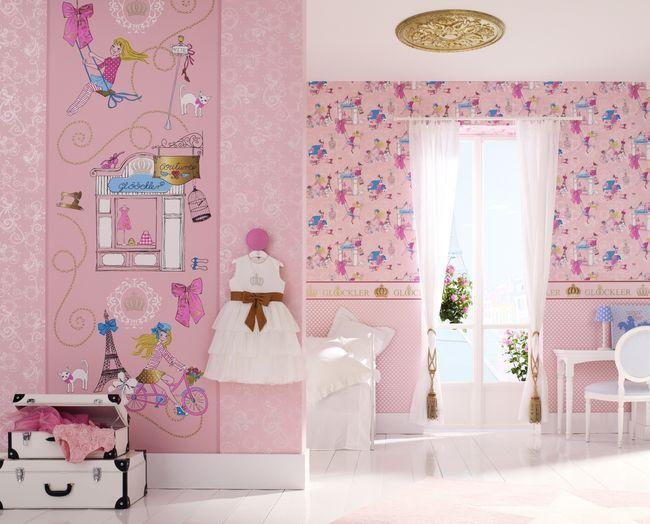 neue tapeten kollektion von harald gl ckler mit childrens paradise wird jedes kinderzimmer zu. Black Bedroom Furniture Sets. Home Design Ideas