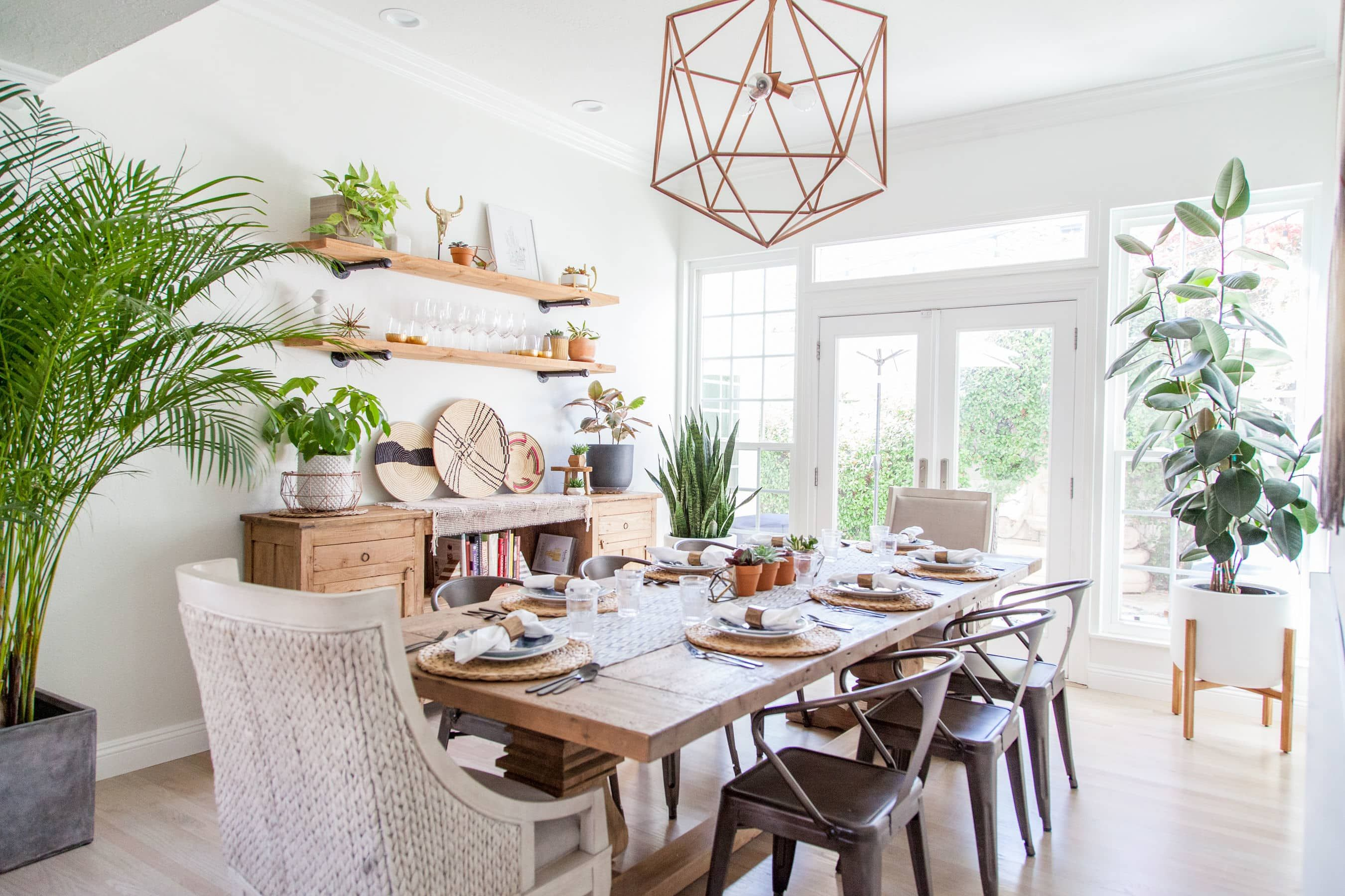 A Traditional Looking House Turned Modern Bohemian Dream Boho