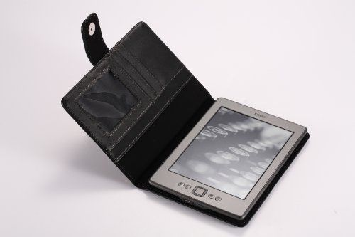 MoKo Clear-View Leather Cover Case for Amazon Kindle 4 2011 Latest Generation, 6 - Inch E Ink Display, NO Keyboard, NON-TOUCH, BLACK by MoKo. $9.99. Custom designed for your precious Amazon Kindle 4, this case features a combination of functionality and style. Premium PU leather boosts a classy look; Premium quality no-scratch microfiber interior adds comfort and an additional layer of protection; access to all controls and features. Well built to protect your Kindle for the...