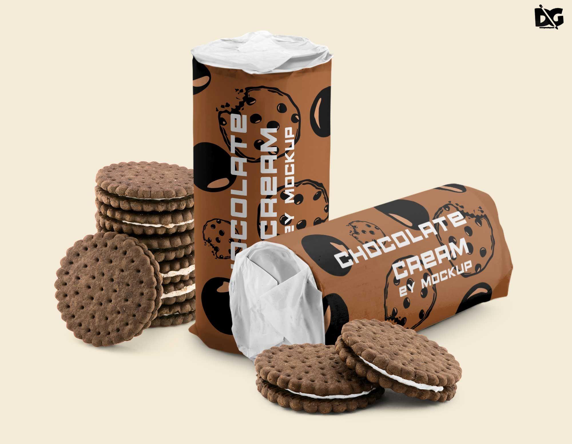 Free Psd Chocolate Cream Packaging Mockup Chocolate Cream Packaging Mockup Chocolate