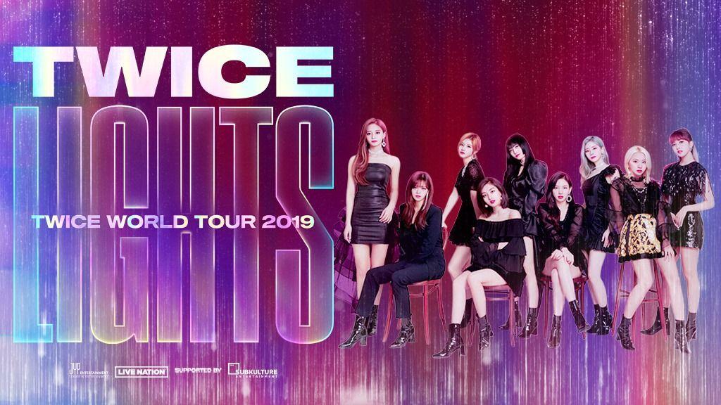 Watch Twice World Tour 2019 Online Free Concert Twice Fanart Tours