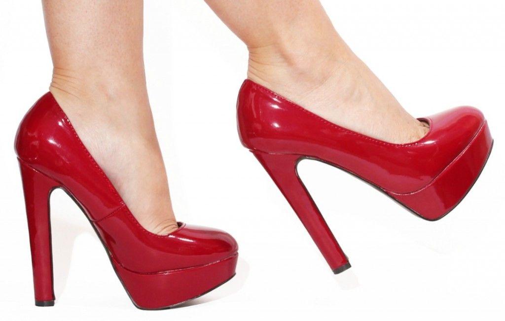 Zapatos Plataforma RojosZapatosTacones Con Tacón De kuiZPX