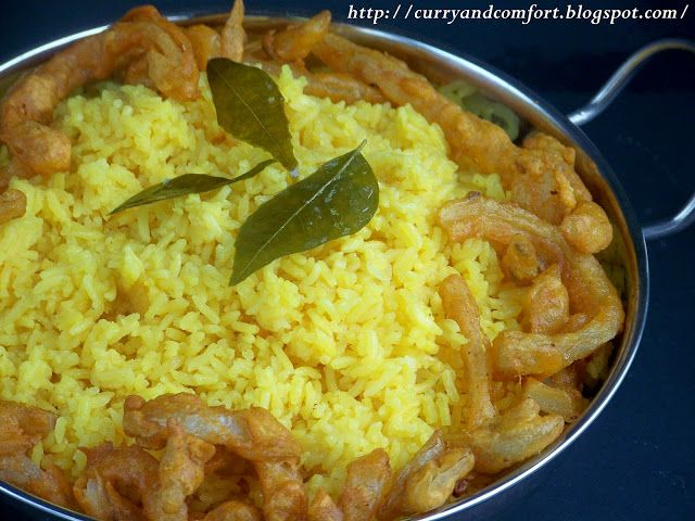 Curry and Comfort: My Mother's Yellow Rice