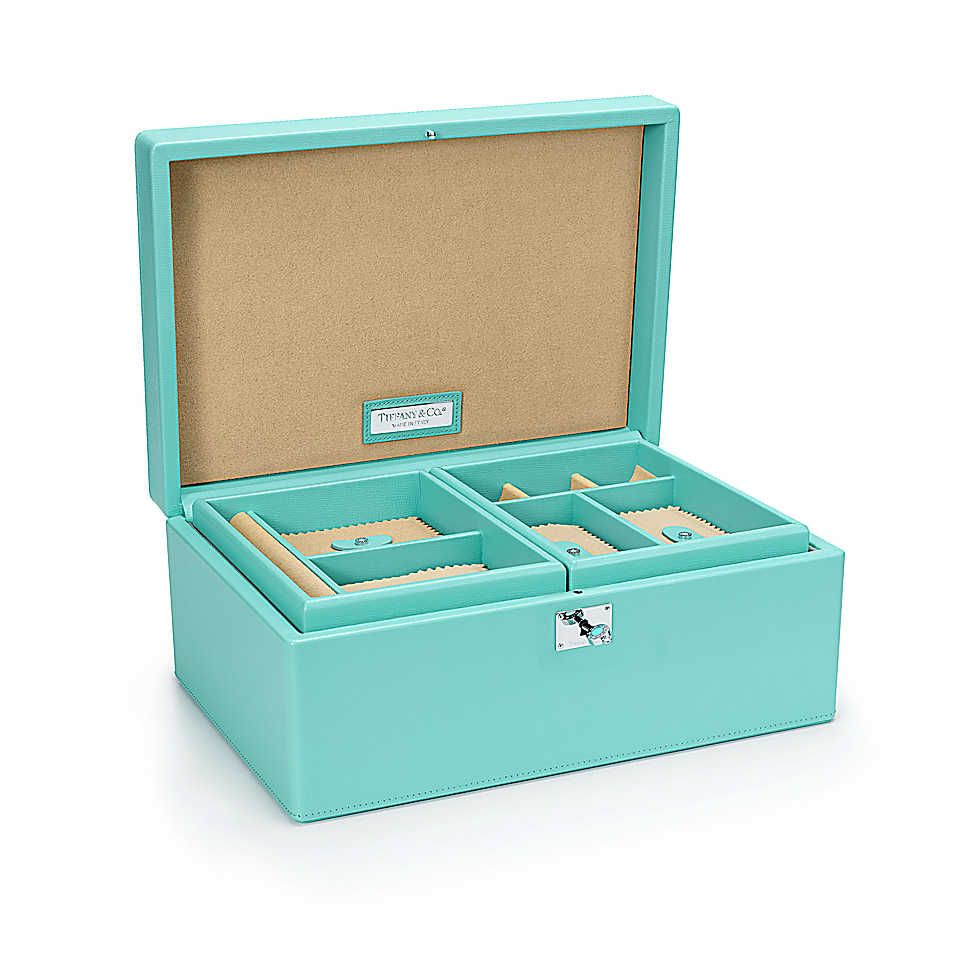 Jewelry Box Tiffany blue Tiffany and Leather
