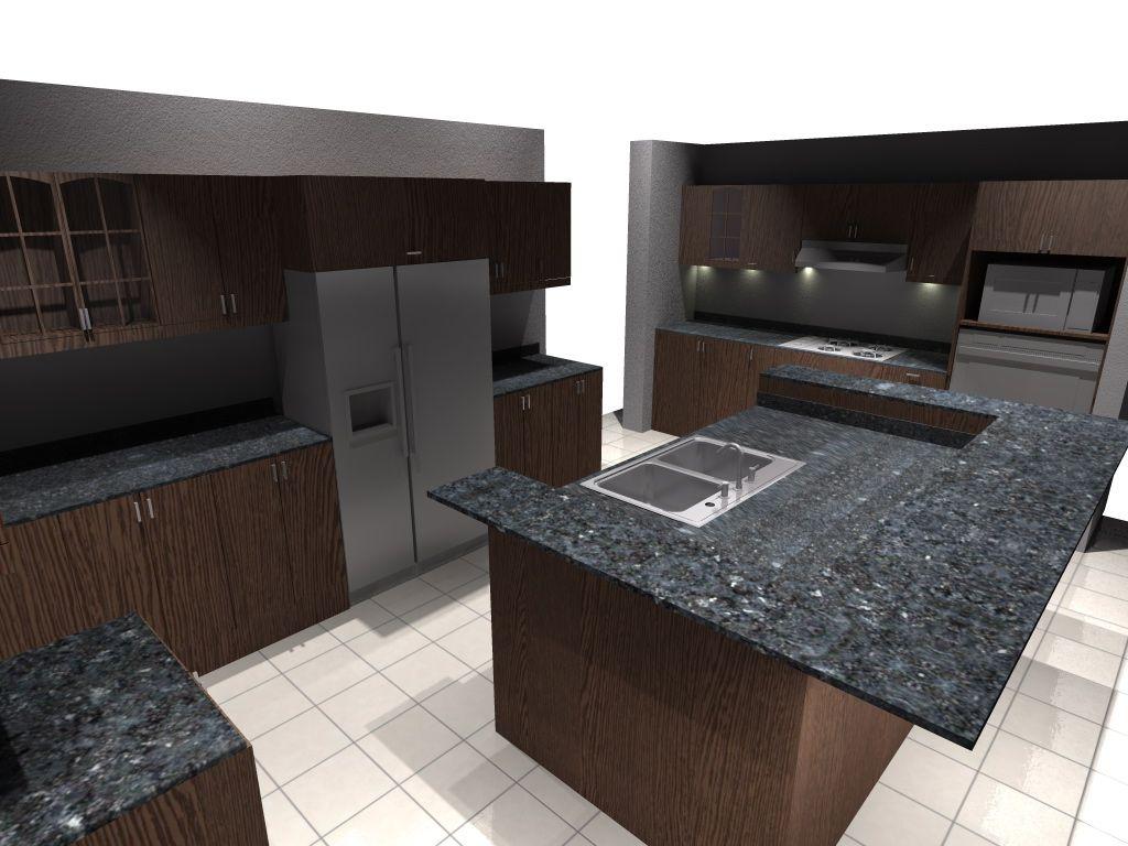Muebles De Cocina Render Producci N Digital Siete Comunicaci N  # Muebles Digitales