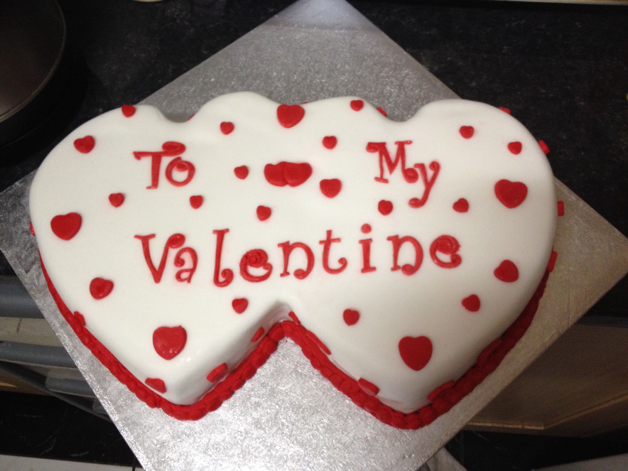 valentine heart cake ideas