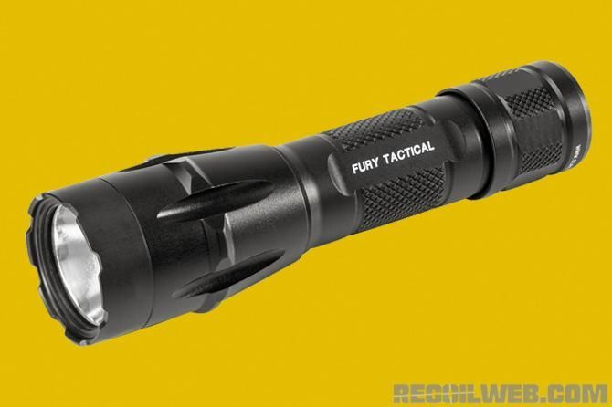 SureFire Fury Dual-Fuel Tactical LED Flashlight Camping-Taschenlampen