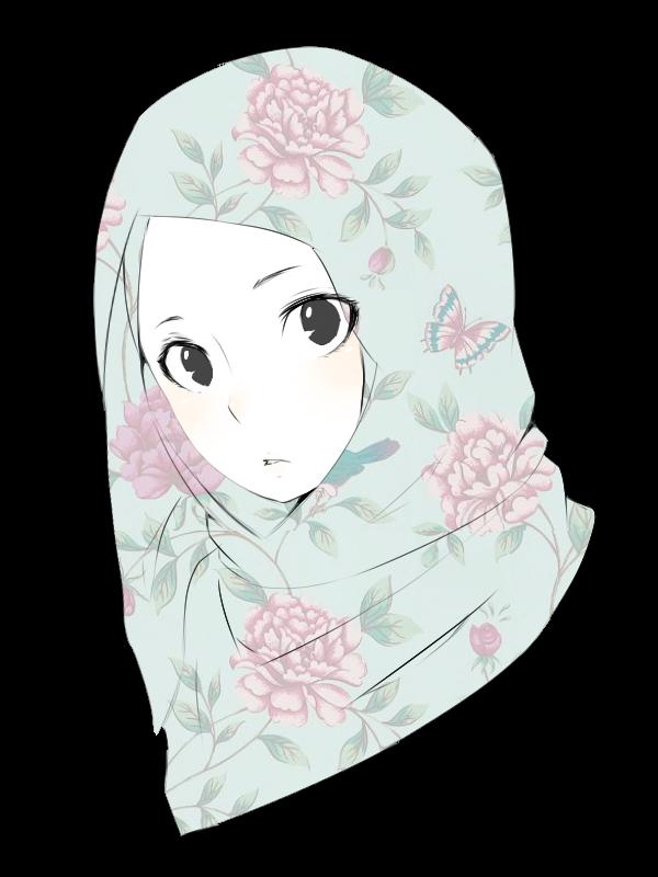 muslimah doodle by nichi09 Kartun, Ilustrasi, Seni