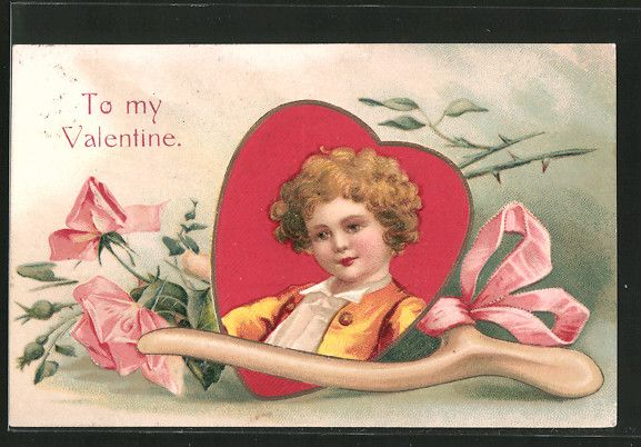 Valentine's Day | Greetings / Holidays / Kitsch | old Postcards