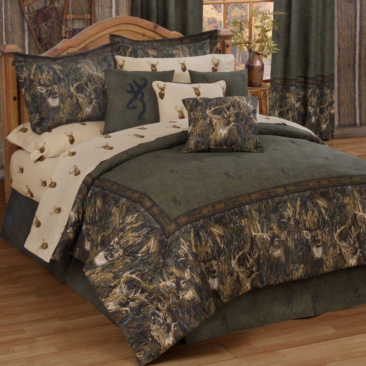 Browning Whitetails Bedding Comforter Sets Home Full Comforter Sets