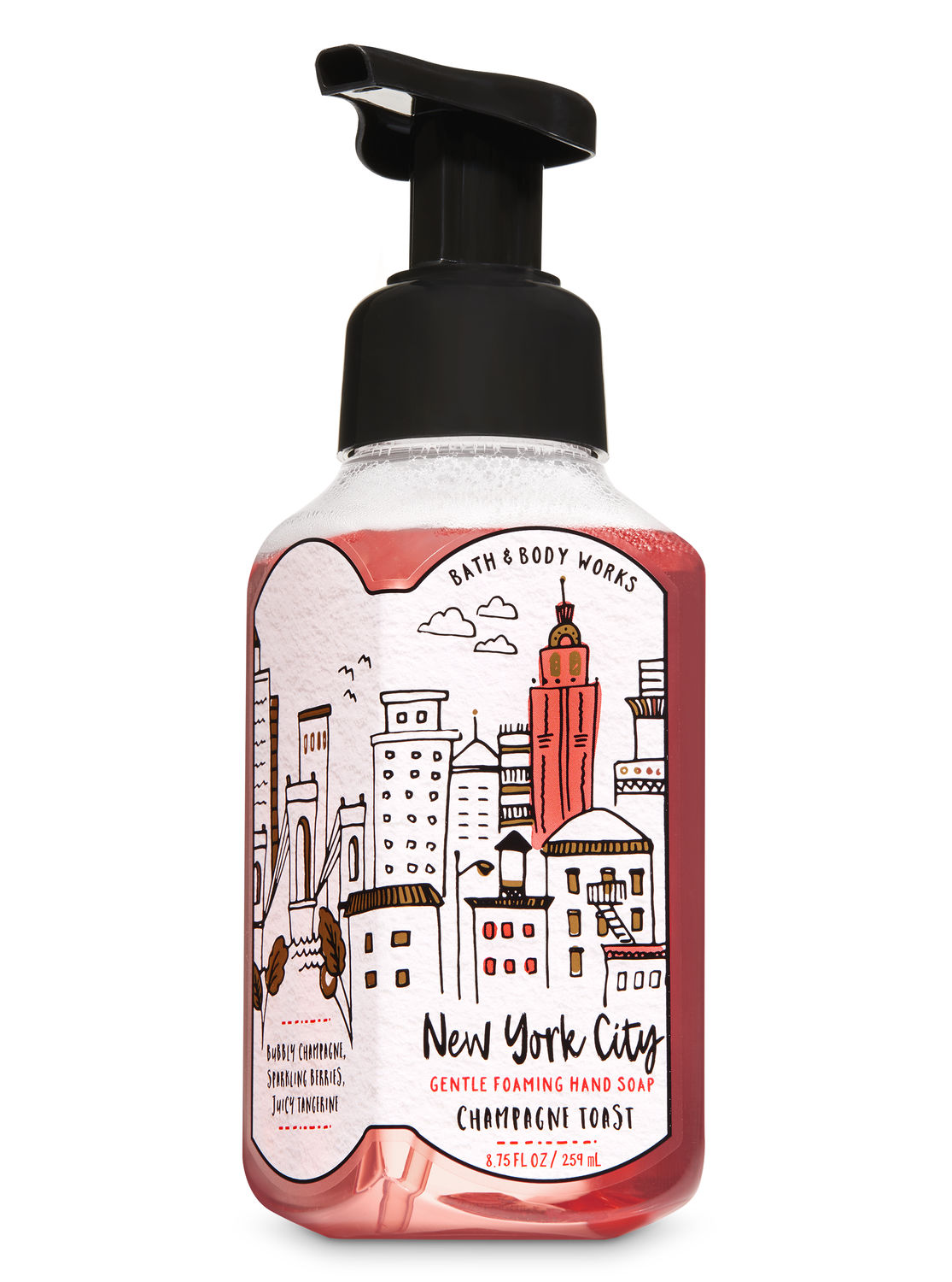 Champagne Toast Gentle Foaming Hand Soap By Bath Body Works