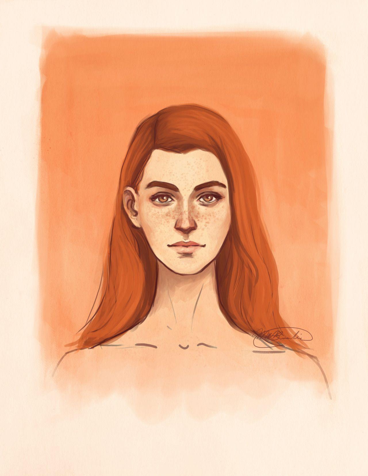 Ginny - aqvarelles