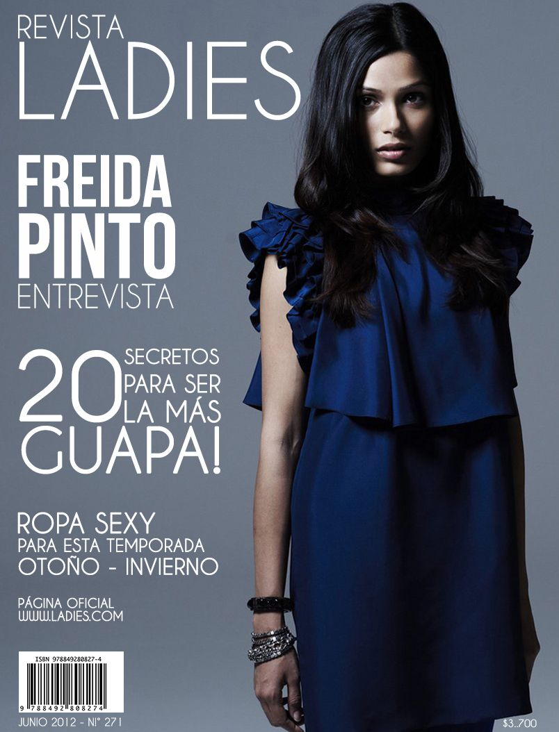 "Revista público femenino   ""revista LADIES"""