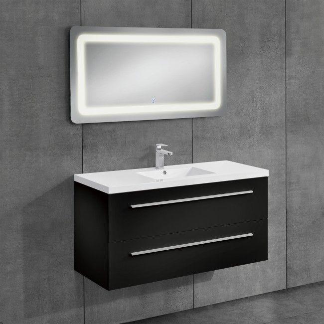 neu.haus] Conjunto de muebles de cuarto de baño - mueble con lavabo ...