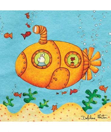 The Yellow Submarine Art Drawings For Kids Art Lessons For Kids