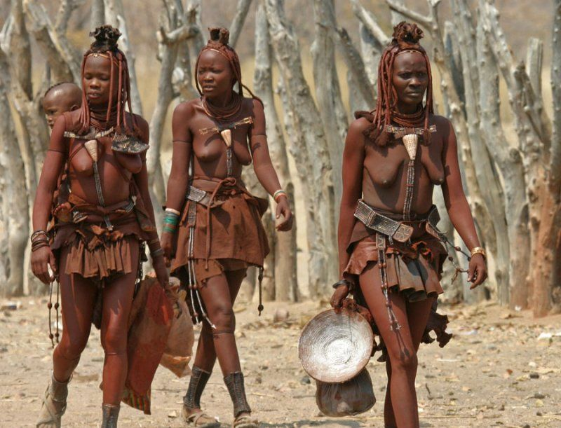 Himba Tribe Namibia African People