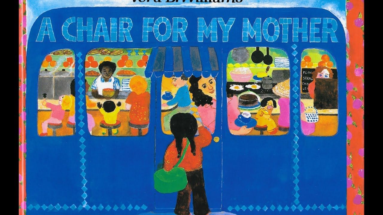 A Chair For My Mother By Vera B Williams Childrens Books Reading Rainbow Read Aloud