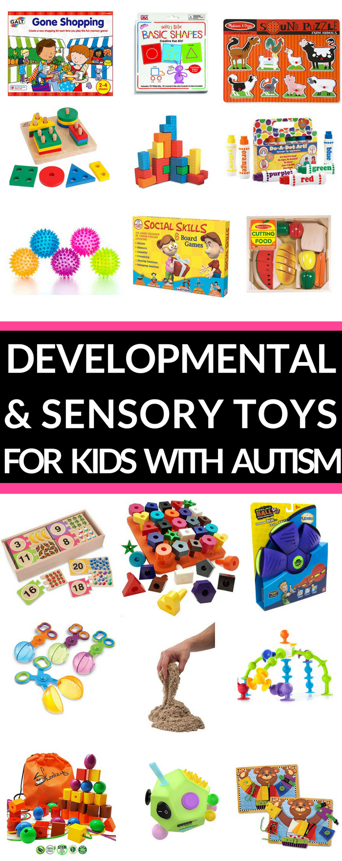 Gifts for Kids with Autism Looking for gift ideas for kids with autism, sensory processing disorder, or other special needs? Both parents & teachers will ...
