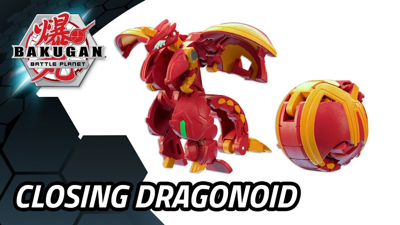 Bakugan Battle Planet How To Fold Your Bakugan Dragonoid Ultra