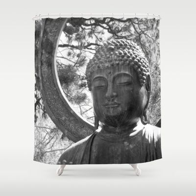 Shower Curtains Curtains Buddha Shower Curtain