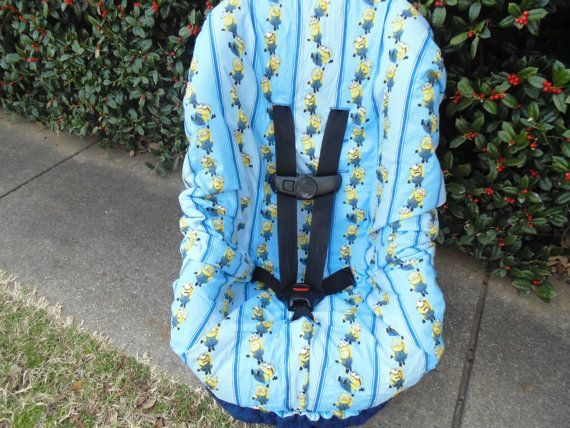 Minions Toddler Car Seat Cover Not By Littlestitches59