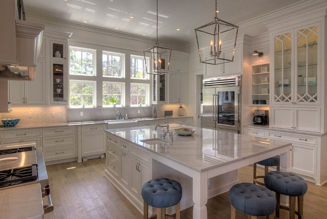 Beautiful White Kitchens House Of Hargrove Check Out These Stunning Full Inspiration