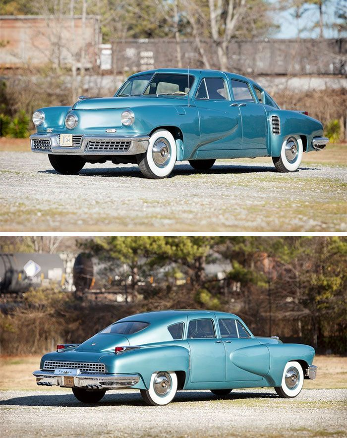 The 1948 Tucker Torpedo 48 was the only model year this car was made ...