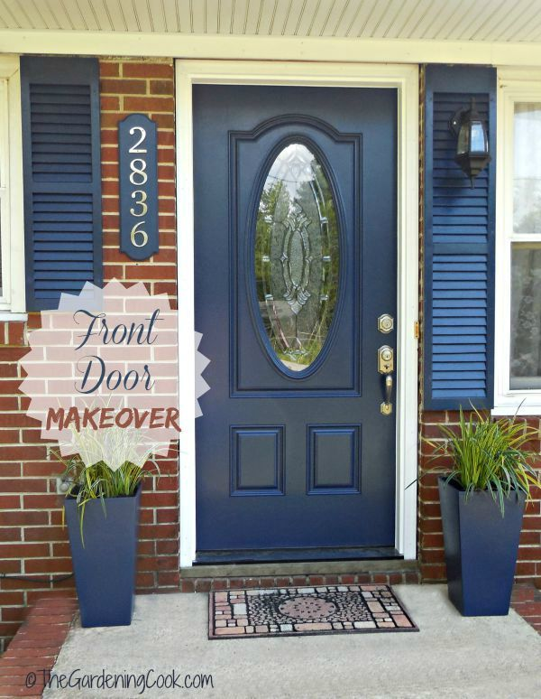 Tips For A Front Door Makeover Before And After Top