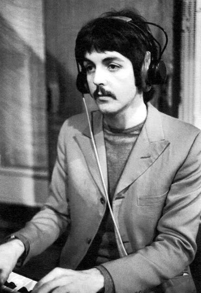 In The Sargeant Peppers Stage Look At That Mustache Thebeatles Paulmccartney Sargeantpeppers