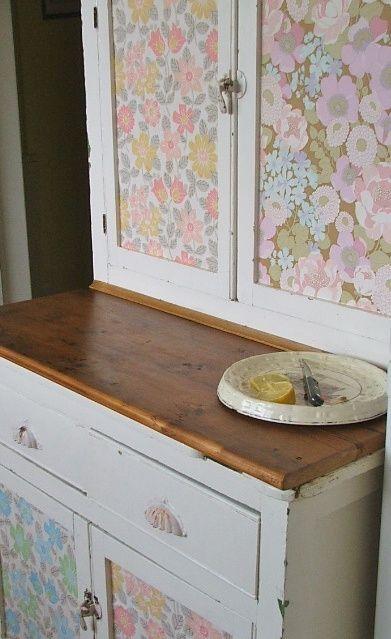 25 fotos e ideas para decorar un mueble con papel pintado transformaci n muebles papel - Como decorar un mueble con papel pintado ...