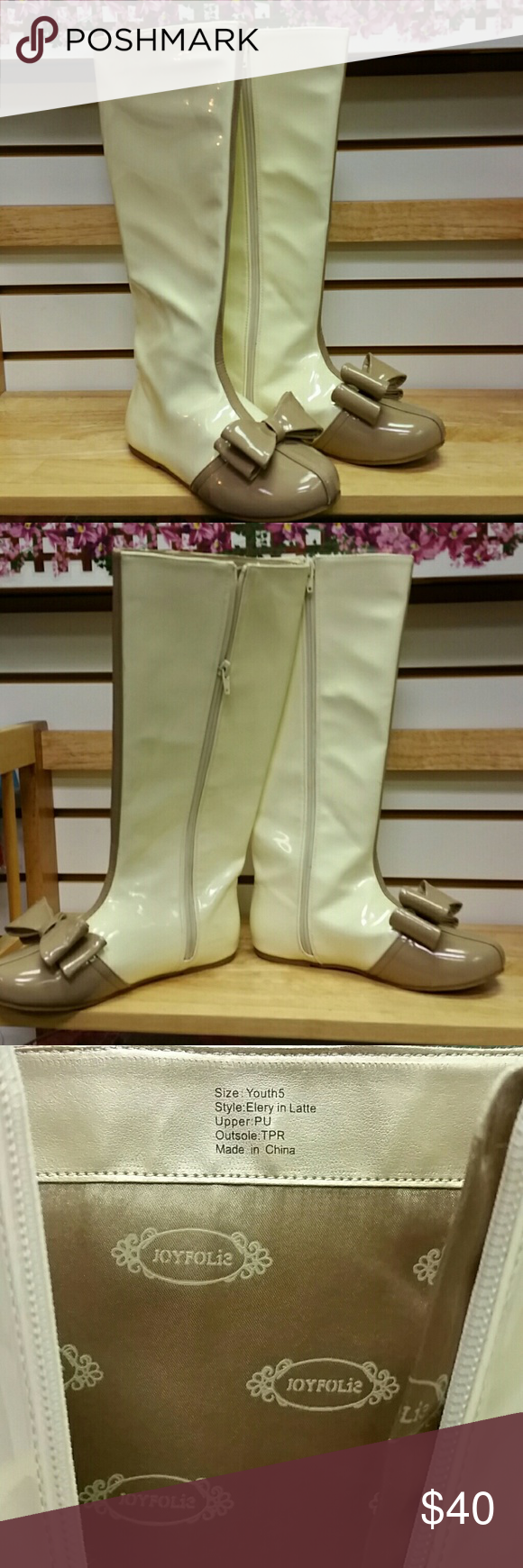Joyfolie boots sz 5 youth = 6 1/2 - 7 womens Almost knee high boots depending on height. Vguc joyfolie Shoes Boots