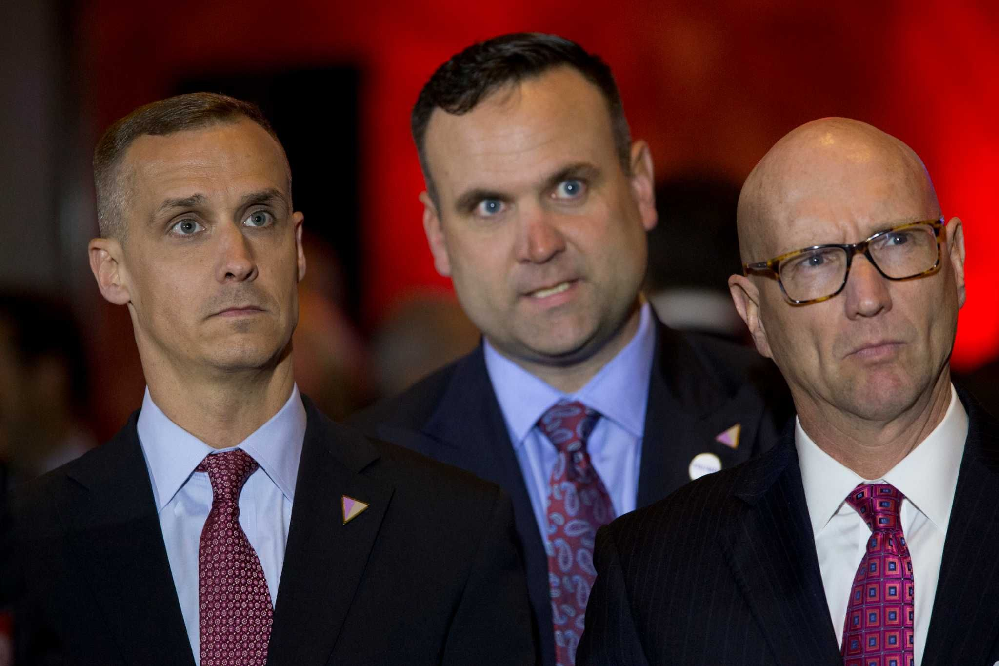 Trump's original 4 staffers behind his historic victory - SFGate
