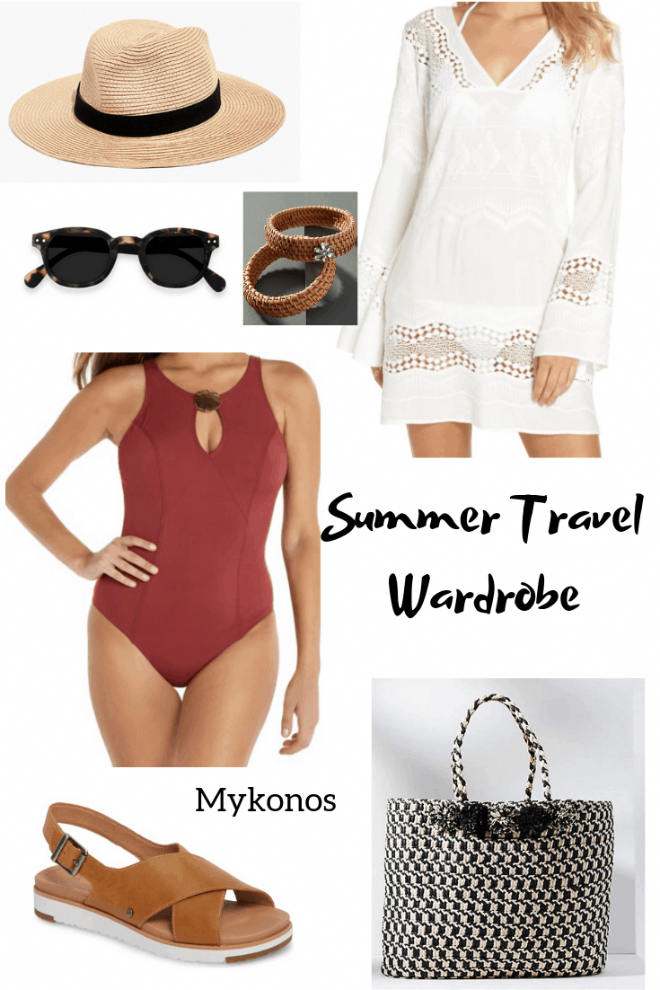 Summer Travel Wardrobe Mix and Match Outfits - Classic Casual Home | summer outfits women over