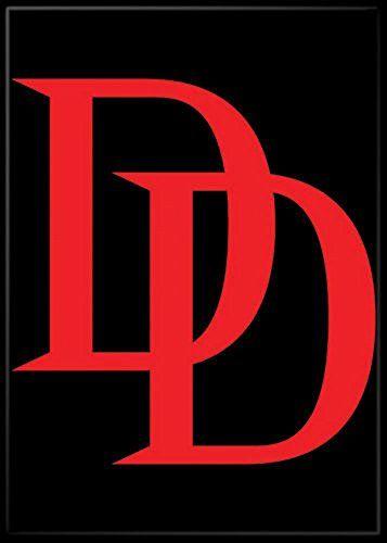Daredevil Logo Marvel Comics Refrigerator Magnet Read