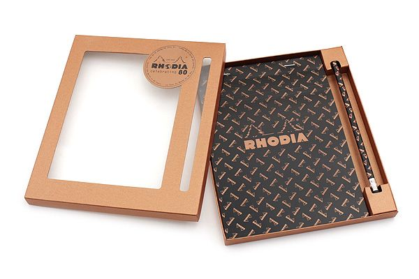 for its 80th anniversary year rhodia presents this limited edition